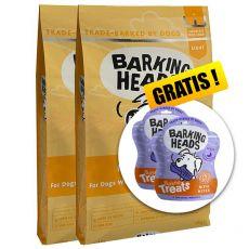 BARKING HEADS Fat Dog Slim LIGHT 2 x 12 kg + CADOU