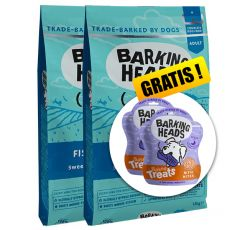 Barking Heads Fish-N-Delish Grain Free 2 x 12 kg + CADOU