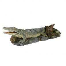DECORAȚIUNE- Crocodil pe stâncă