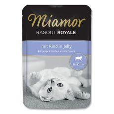 MIAMOR Ragout Kitten carne de vită în pungă de aluminiu 100 g