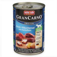conservă GranCarno Fleisch Adult țipar afumat +cartofi- 400g