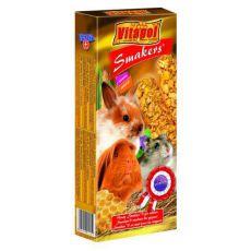 Batoane cu miere pentru rozătoare - Vitapol Smakers, 90 g