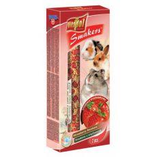 Vitapol Smakers batoane cu gust de căpşune pentru rozătoare 90 g