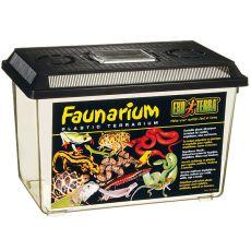 Faunarium - cutie portabilă din plastic 370 x 220 x 250 mm