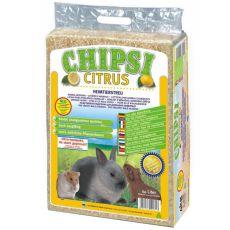 CHIPSI CITRUS - aşternut pentru rozătoare 60 L