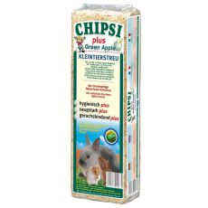 CHIPSI PLUS GREEN APPLE - aşternut, cu aromă de mere - 15 L