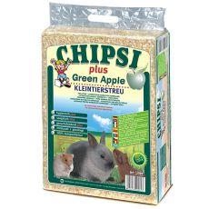 CHIPSI PLUS GREEN APPLE talaş pentru rozător - 60 L
