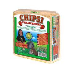 CHIPSI STRAWBERRY - aşternut, cu aromă de capşuni, 15 L