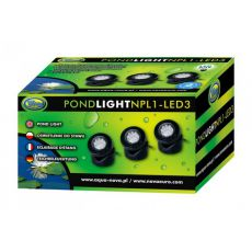 Luminator iaz NPL1-3LED 3x1,6W
