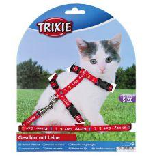 Kitty Cat ham cu lesă pentru pisici, în culoare roșie