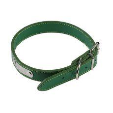 zgardă din piele,verde, 30 cm