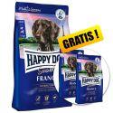 Happy Dog Supreme Sensible France 12,5 kg + 2 x 1kg GRATUIT