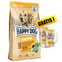 Happy Dog NaturCroq Geflügel Pur & Reis 15 kg + CADOU