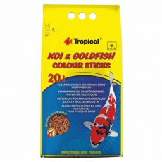 TROPICAL Koi goldfish bastonașe colorate 20L