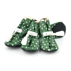 pantofi pentru caini , verde - marimea  4