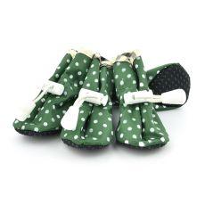 pantofi pentru caini , verde - marimea  5