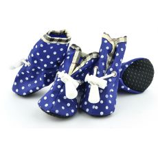pantofi pentru caini , albastru - marimea  2
