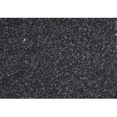 Pietris negru pentru acvariu 1-3mm - 5kg