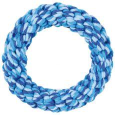 Jucărie din bumbac pentru câini, albastru- 14 cm