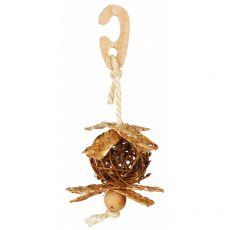Minge împletită cu frânghie de sisal pentru păsări 5,5 cm
