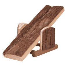 Leagăn rozător - confecţionat din lemn, 22 x 7 x 8 cm