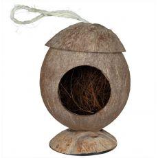 Căsuţă de rozător - din fibră de nucă de cocos, suspendabilă, 12 cm