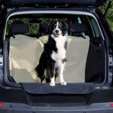 Husă pentru portbagajul autoturismului - bej, 180 x 130 cm