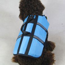 Vestă de salvare pentru câine – bleu, XXS