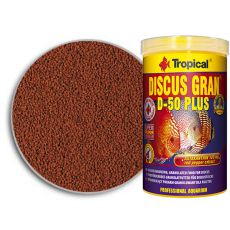 TROPICAL Discus Gran D-50 Plus 1000ml + 35% GRATUIT