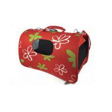 Geantă de transport pentru câini și pisici - roșie, 37 x 22 x 20 cm