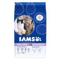 IAMS Multi-Cat hrană pentru pisici cu carne de pui si somon 3 kg