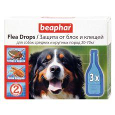 Pipete pentru câini,purici și căpușe, 20-70kg