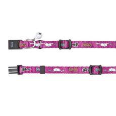 Zgardă pentru pisici și căței în culoare violet - 15 - 20 cm