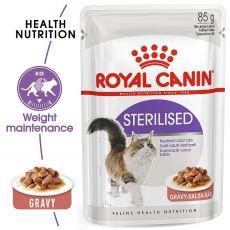 Royal Canin STERILISED 85 g - în pungă de aluminiu
