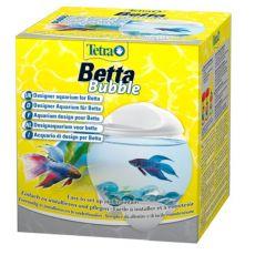 Acvariu sferic pentru peşti Betta 1.8 L - alb