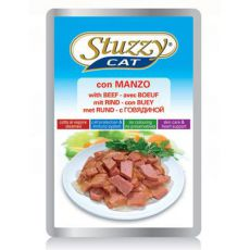 Stuzzy cat pungă de aluminiu - carne de bovin, 100g