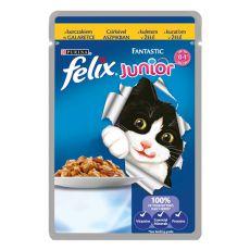 Felix Junior - carne de pui în aspic, 100 g