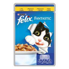 Hrană Felix - carne de pui în jeleu, 100 g