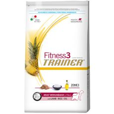 Trainer Fitness3 Adult MEDIUM MAXI - miel și orez 12,5 kg