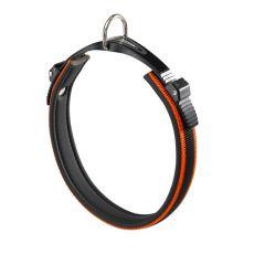 zgardă ergocomfortabilă- portocalie , 52 - 60 cm