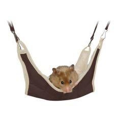Culcuş pentru rozătoare - suspendabil pe cuşcă. 18 x 18 cm