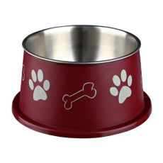Bol pentru câinii cu urechi lungi, maro - 0.9 L