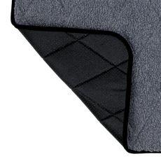 Covoraș de culoare gri pentru căței - 80x60cm