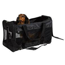 Geantă de transport câini și pisici Ryan, nailon - 26x27x47cm