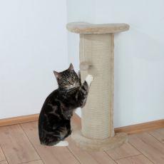 Suprafață colțar pentru ascuțirea ghearelor pisicilor, dotat cu jucărie Lorca - 75cm