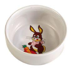 Castron de ceramică pentru iepuri - 300 ml, 11 cm