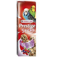 Bastonașe pentru peruși Prestige Sticks 2 bucăți-  fructe de pădure, 60g