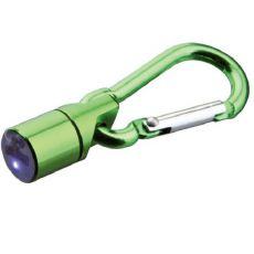Clipitoare cu lumină verde pentru căței și pisici - funcționabil cu baterii, 1cm