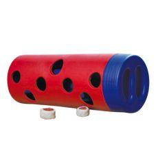 Jucărie cu orificii pentru ascunderea hranei recompensă - 6x14cm