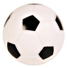 Jucărie din vinilin câine- fotbal, 10cm